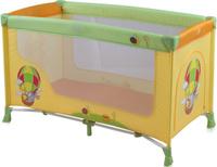 Купить Lorelli Манеж-кроватка Nanny 1 цвет желтый салатовый, Манежи