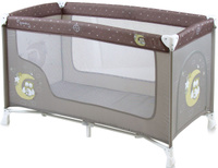 Купить Lorelli Манеж-кроватка Nanny 1 цвет серый, Манежи