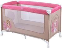 Купить Lorelli Манеж-кроватка Nanny 1 цвет бежевый розовый, Манежи