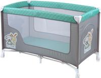 Купить Lorelli Манеж-кроватка Nanny 1 цвет серый зеленый, Манежи