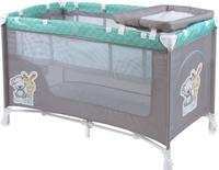Купить Lorelli Манеж-кроватка Nanny 2 цвет серый зеленый, Манежи