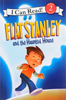 Купить Flat Stanley and the Haunted House: Level 2, Зарубежная литература для детей