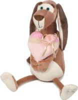 Купить Maxitoys Luxury Мягкая игрушка Собачка Наденька с сердцем 35 см, Мягкие игрушки