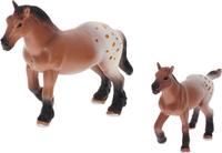 Купить National Geographic Набор фигурок Лошадка с жеребенком, Фигурки