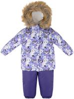 Купить Комплект для девочки Reike Умная Лиса: куртка, полукомбинезон, цвет: фиолетовый. 39550109_SF purple. Размер 80, Одежда для девочек