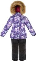 Купить Комплект для девочки Reike Забавный горностай: куртка, полукомбинезон, цвет: фиолетовый. 39775777_FE purple. Размер 122, Одежда для девочек