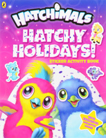 Купить Hatchimals: Hatchy Holidays! Sticker Activity Book, Книжки с наклейками