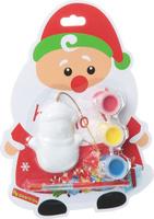 Купить Bondibon Набор для изготовления игрушек Ёлочные украшения Дед Мороз ВВ1402, Bondibon Creatures Co., LTD, Игрушки своими руками