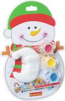 Купить Bondibon Набор для изготовления игрушек Ёлочные украшения Снеговик ВВ1403, Bondibon Creatures Co., LTD, Игрушки своими руками