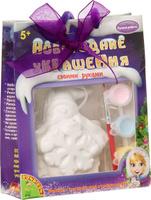 Купить Bondibon Набор для изготовления игрушек Ёлочные украшения Снеговичок ВВ1600 Уцененный товар (№1), Игрушки своими руками