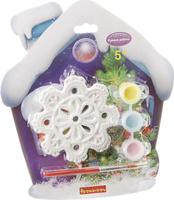 Купить Bondibon Набор для изготовления игрушек Ёлочные украшения Снежинка ВВ1655, Bondibon Creatures Co., LTD, Игрушки своими руками