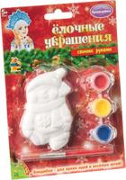Купить Bondibon Набор для изготовления игрушек Ёлочные украшения Снеговичок ВВ1662, Bondibon Creatures Co., LTD, Игрушки своими руками