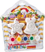 Купить Bondibon Набор для изготовления игрушек Ёлочные украшения ВВ1688, Bondibon Creatures Co., LTD, Игрушки своими руками