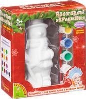Купить Bondibon Набор для изготовления игрушек Новогодние украшения Снеговик, Bondibon Creatures Co., LTD, Игрушки своими руками