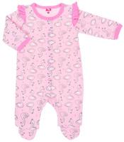 Купить Комбинезон для девочки Cherubino, цвет: светло-розовый. CWN 9674 (156). Размер 62, Одежда для девочек