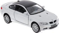Купить Kinsmart Модель автомобиля BMW M3 Coupe цвет серебристый, Машинки
