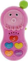 Купить Veld-Co Музыкальная игрушка Телефончик цвет розовый, Интерактивные игрушки