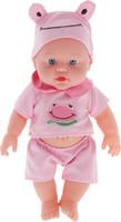 Купить S+S Toys Пупс озвученный цвет наряда розовый 34 см, Куклы и аксессуары