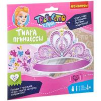 Купить Bondibon Набор для изготовления игрушки Новогодняя тиара принцессы, Bondibon Creatures Co., LTD, Игрушки своими руками
