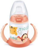 Купить NUK Бутылочка-поильник Дисней First Choice с силиконовым носиком от 6 до 18 месяцев цвет персиковый 150 мл, Поильники