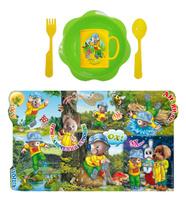 Купить Набор детской посуды Хрюша с мухомором 5 предметов Н5СП7, АртХаус, Посуда для самых маленьких