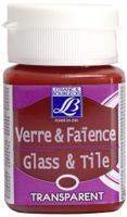 Купить Краска по стеклу и керамике Lefranc & Bourgeois Glass&Tile , прозрачная, цвет: мандариновый (221), 50 мл, Краски