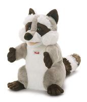 Купить Trudi Мягкая игрушка на руку Енот 25 см, Мягкие игрушки
