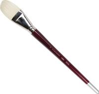 Купить Koh-I-Noor Кисть щетина плоская №18 длинная ручка, Кисти