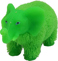 Купить 1TOY Антистрессовая игрушка Нью-Ёжики Слоник цвет зеленый, Развлекательные игрушки