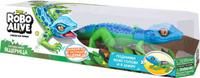 Купить Zuru Интерактивная игрушка Робо-ящерица RoboAlive цвет синий зеленый, Интерактивные игрушки