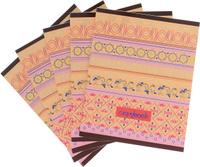 Купить КТС-Про Набор тетрадей Орнамент 48 листов в клетку 5 шт, Тетради