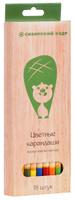 Купить СКФ Набор цветных карандашей Сибирский кедр Eco 18 шт, Сибирская карандашная фабрика, Карандаши