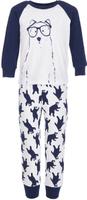 Купить Пижама для мальчика Button Blue, цвет: белый. 217BBBU97011007. Размер 104, 4 года, Одежда для мальчиков