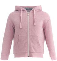 Купить Толстовка для девочки Button Blue, цвет: розовый. 217BBGC16021200. Размер 116, 6 лет, Одежда для девочек