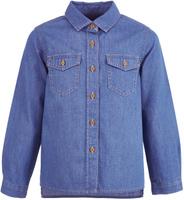 Купить Рубашка для девочки Button Blue, цвет: голубой. 217BBGC2301D200. Размер 134, 9 лет, Одежда для девочек