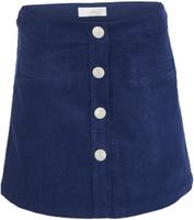Купить Юбка для девочки Button Blue, цвет: темно-синий. 217BBGC61011000. Размер 134, 9 лет, Одежда для девочек