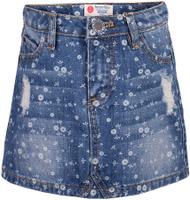 Купить Юбка для девочки Button Blue, цвет: голубой. 217BBGC6102D214. Размер 134, 9 лет, Одежда для девочек
