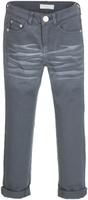 Купить Брюки для девочки Button Blue, цвет: темно-серый. 217BBGC63012000. Размер 134, 9 лет, Одежда для девочек