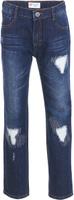 Купить Джинсы для девочки Button Blue, цвет: синий. 217BBGC6303D500. Размер 158, 13 лет, Одежда для девочек