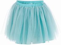 Купить Юбка для девочки Button Blue, цвет: бирюзовый. 217BBGP61012600. Размер 116, 6 лет, Одежда для девочек