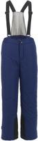 Купить Брюки утепленные детские Button Blue, цвет: темно-синий. 217BBUA67011000. Размер 98, 3 года, Одежда для девочек