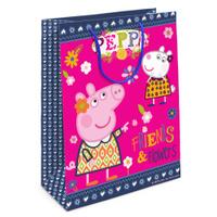Купить Peppa Pig Пакет подарочный Пеппа и Сьюзи 23 х 18 х 10 см, Подарочная упаковка