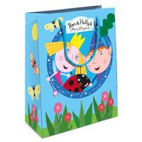 Купить Бен и Холли Пакет подарочный 23 х 18 х 10 см, Ben&Holly, Подарочная упаковка