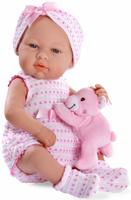 Купить Arias Пупс Elegance с игрушкой цвет розовый Т11095, Куклы и аксессуары
