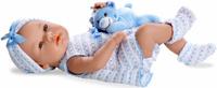 Купить Arias Пупс Elegance с игрушкой цвет одежды голубой Т11096, Куклы и аксессуары