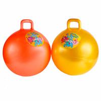 Купить Играем вместе Мяч-попрыгун Смешарики с ручкой 55 см, Shantou City Daxiang Plastic Toy Products Co., Ltd, Батуты, попрыгуны