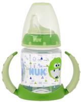 Купить Бутылочка-поильник NUK First Choice , с силиконовым носиком, от 6 до 18 месяцев, цвет: салатовый, 150 мл, Поильники