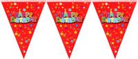 Купить Страна Карнавалия Растяжка С днем рождения на 10 флажков 1041249, Гирлянды и подвески