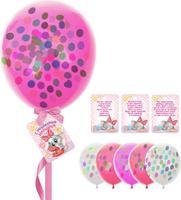 Купить Страна Карнавалия Шары воздушные с пожеланиями С Рождением малышки! 8 шт, Воздушные шарики