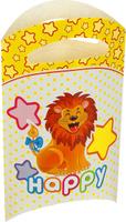 Купить Страна Карнавалия Пакет подарочный Лева в горошек 14 x 24 см 6 шт 1652842, Подарочная упаковка